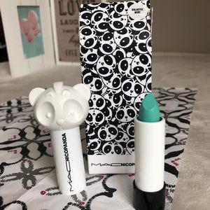 BNIB MAC Nicopanda Galactic Mint Matte Lipstick